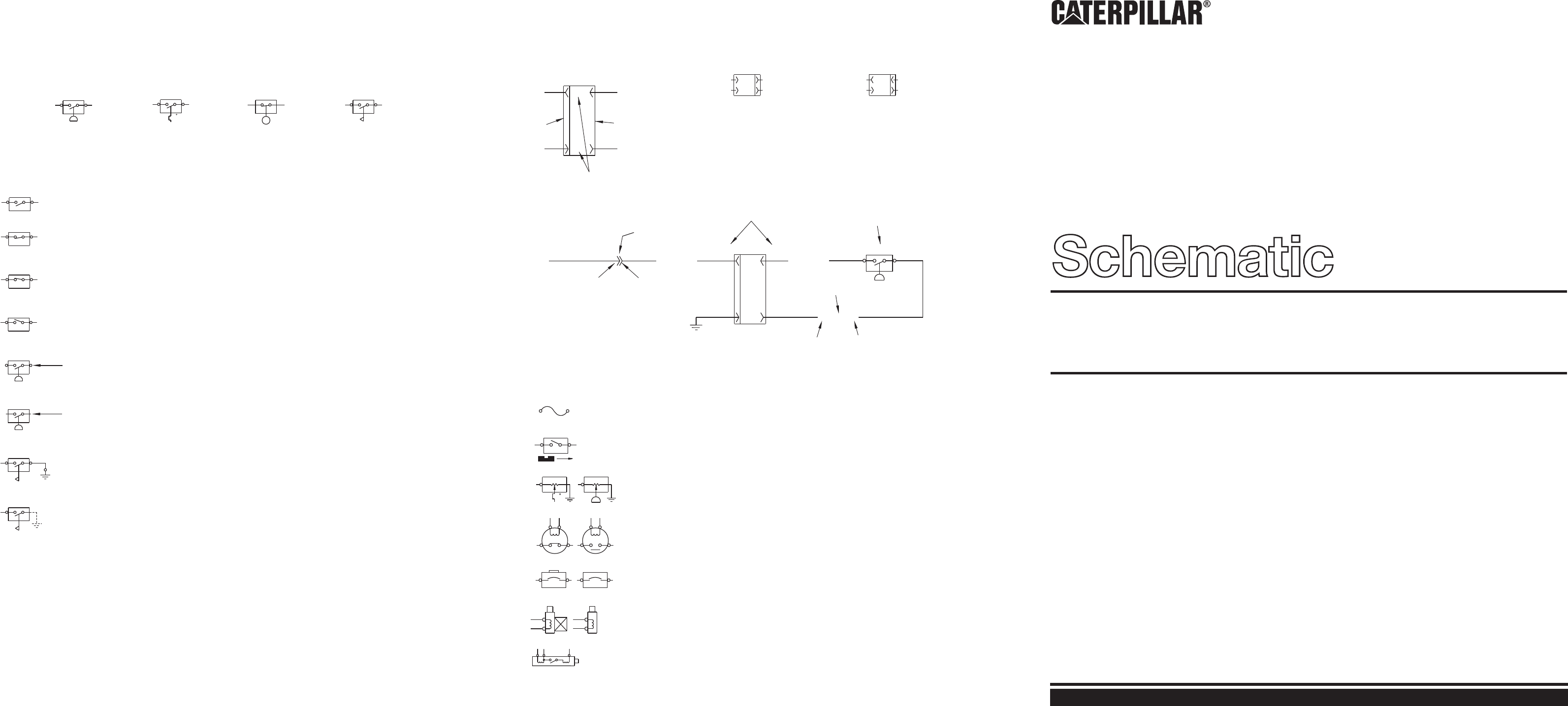 CP-323C & CS-323C VITORY COMPACTOR ELECTRICAL SCHEMATIC | CAT ... on