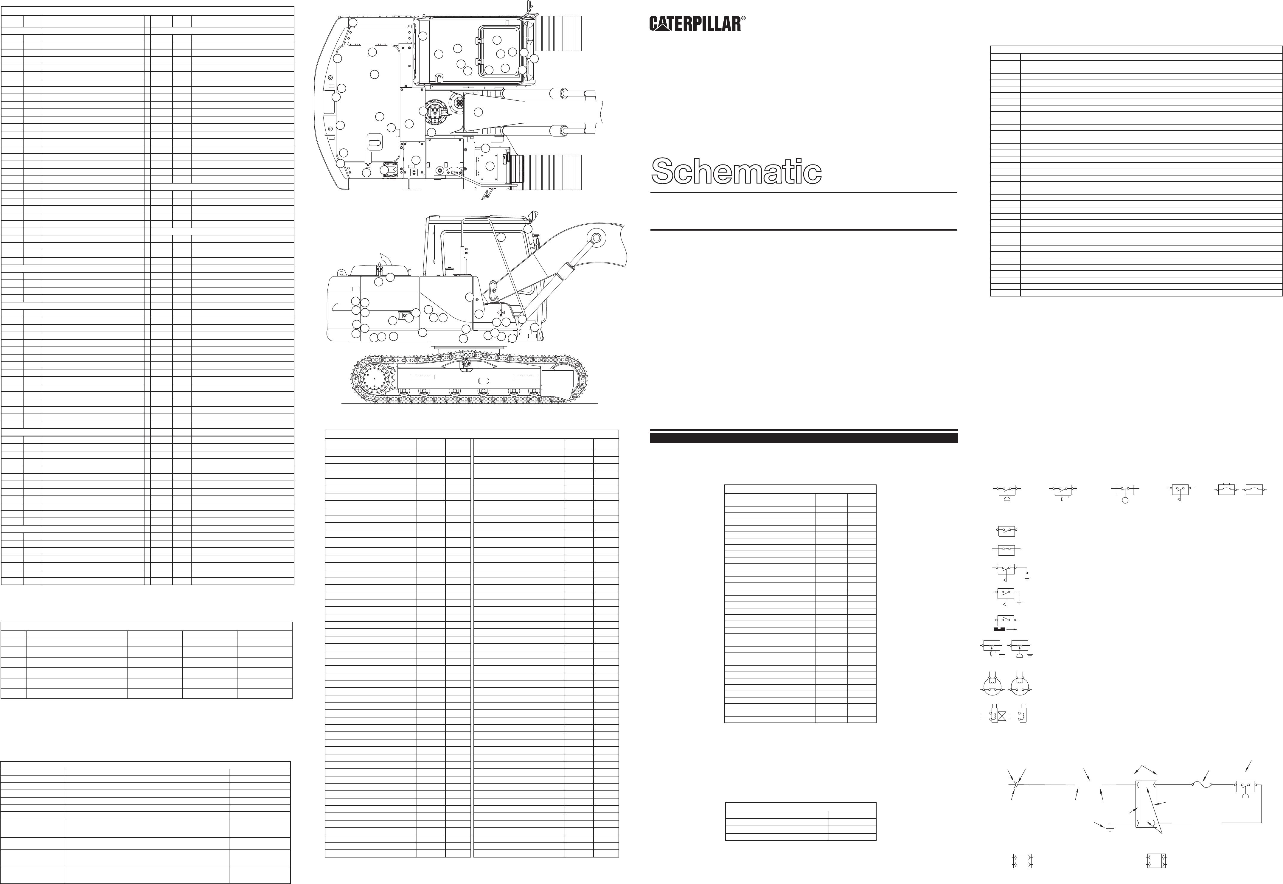 [DIAGRAM_4PO]  312B,312B L EXCAVATOR ELECTRICAL SCHEMATIC USED IN SERVICE MANUAL RENR1100  GRENOBLE | CAT Machines Electrical Schematic | Caterpillar Solenoid Wiring Diagram |  | CAT Machines Electrical Schematic