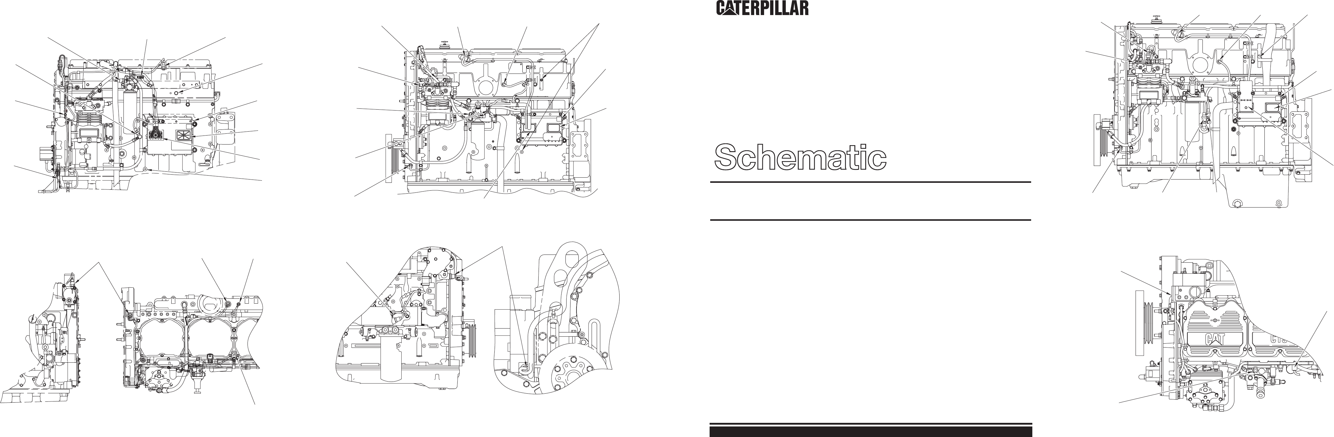 C-10, C-12, 3406E, C-15 & C-16 TRUCK ENGINE ELECTRICAL SYSTEM SCHEMATIC |  CAT Machines Electrical SchematicCAT Machines Electrical Schematic