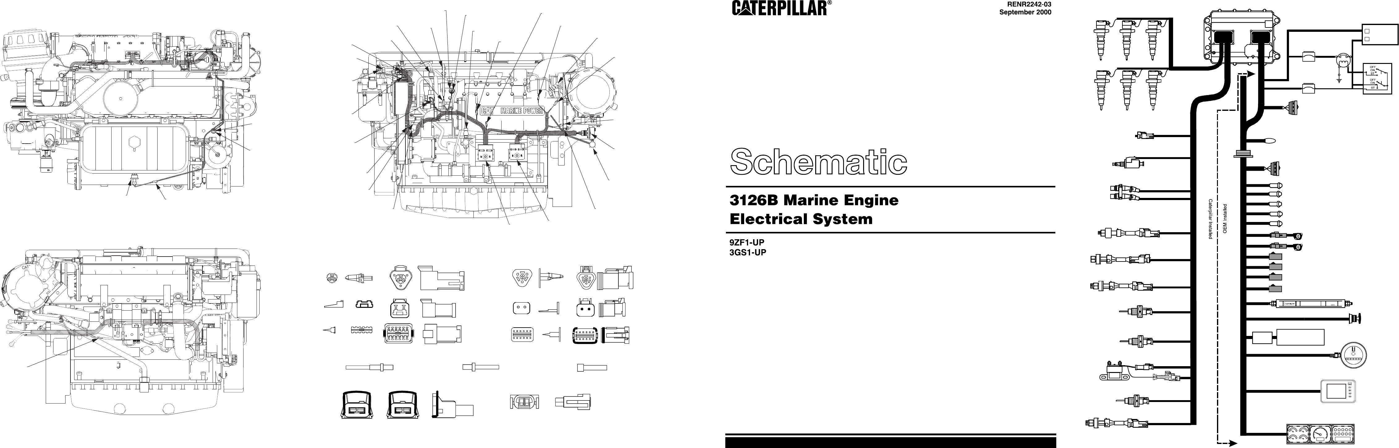 Cat 3126 Engine Parts Diagram | Repair Manual