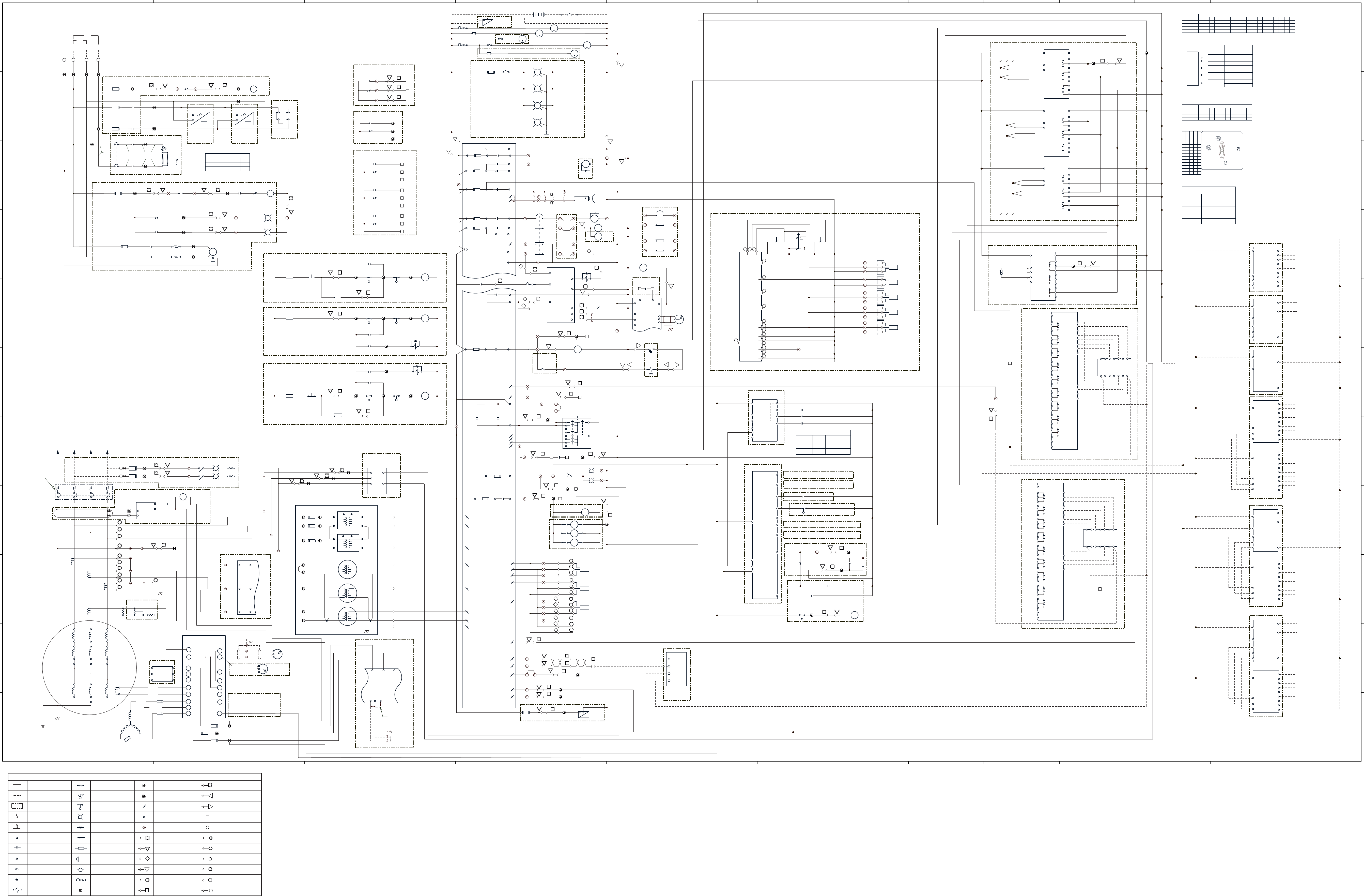 3412C EMCP II FOR PEEC ENGINES ELECTRICAL SYSTEM SCHEMATICS | CAT Machines  Electrical SchematicCAT Machines Electrical Schematic