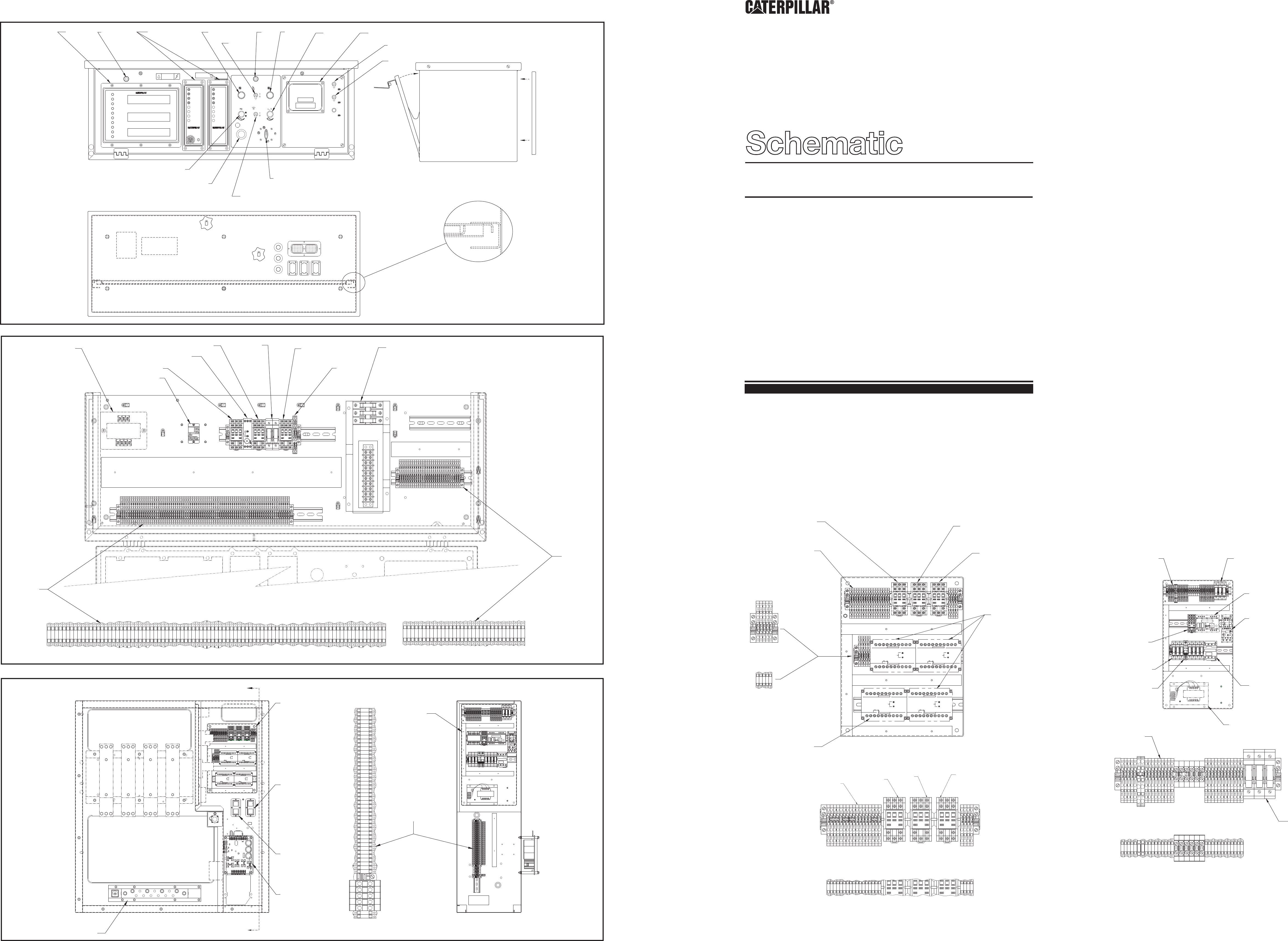 3456 GENERATOR SET WITH EMCP II+ ELECTRICAL SYSTEM | CAT Machines  Electrical SchematicCAT Machines Electrical Schematic