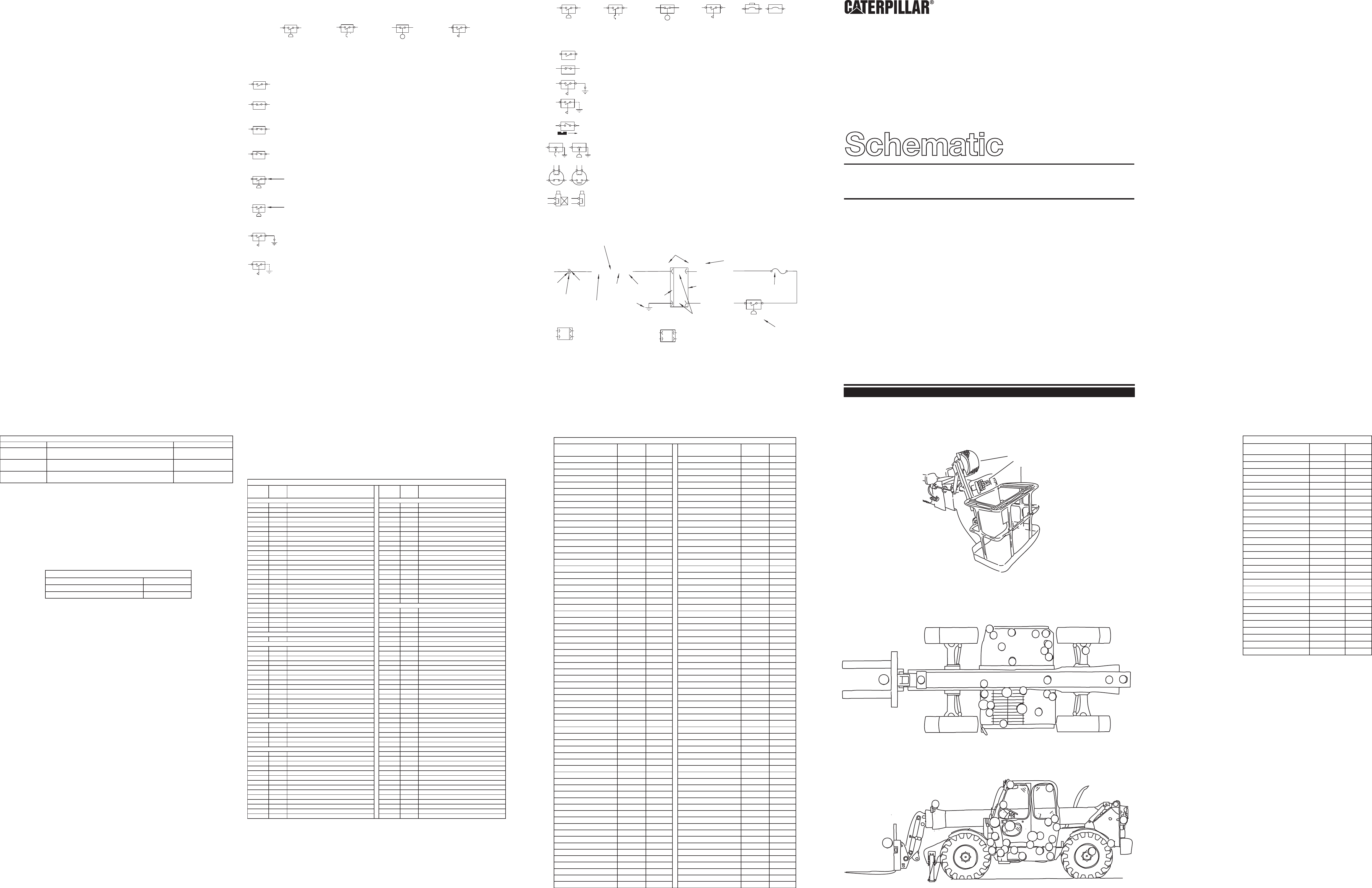 TH62, TH63, TH82, TH83 ELECTRICAL SCHEMATIC | CAT Machines Electrical  SchematicCAT Machines Electrical Schematic