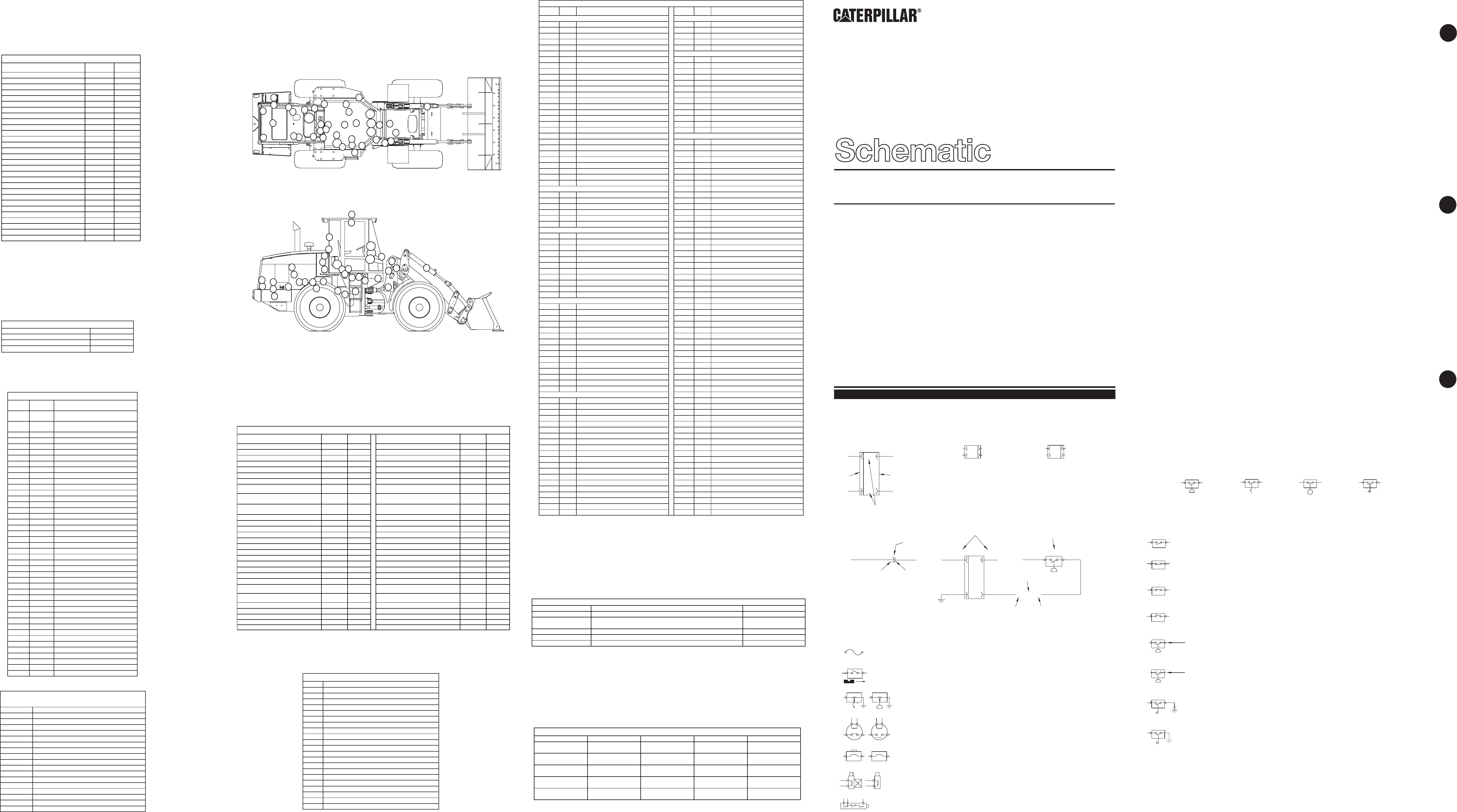 924G, 924GZ WHEEL LOADER ELECTRICAL SCHEMATIC (CAB & CHASSIS) | CAT