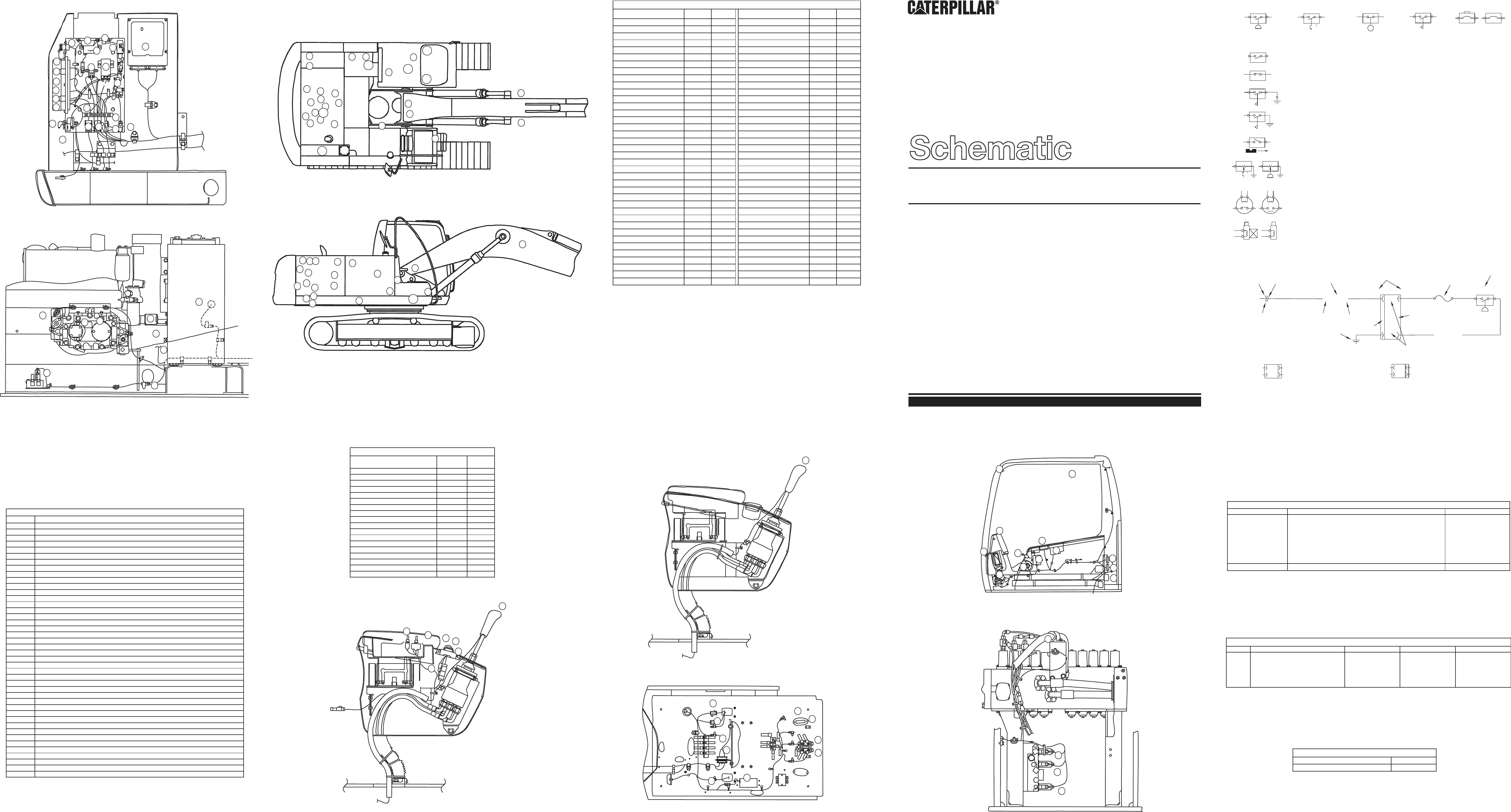320c Excavator Electrical System