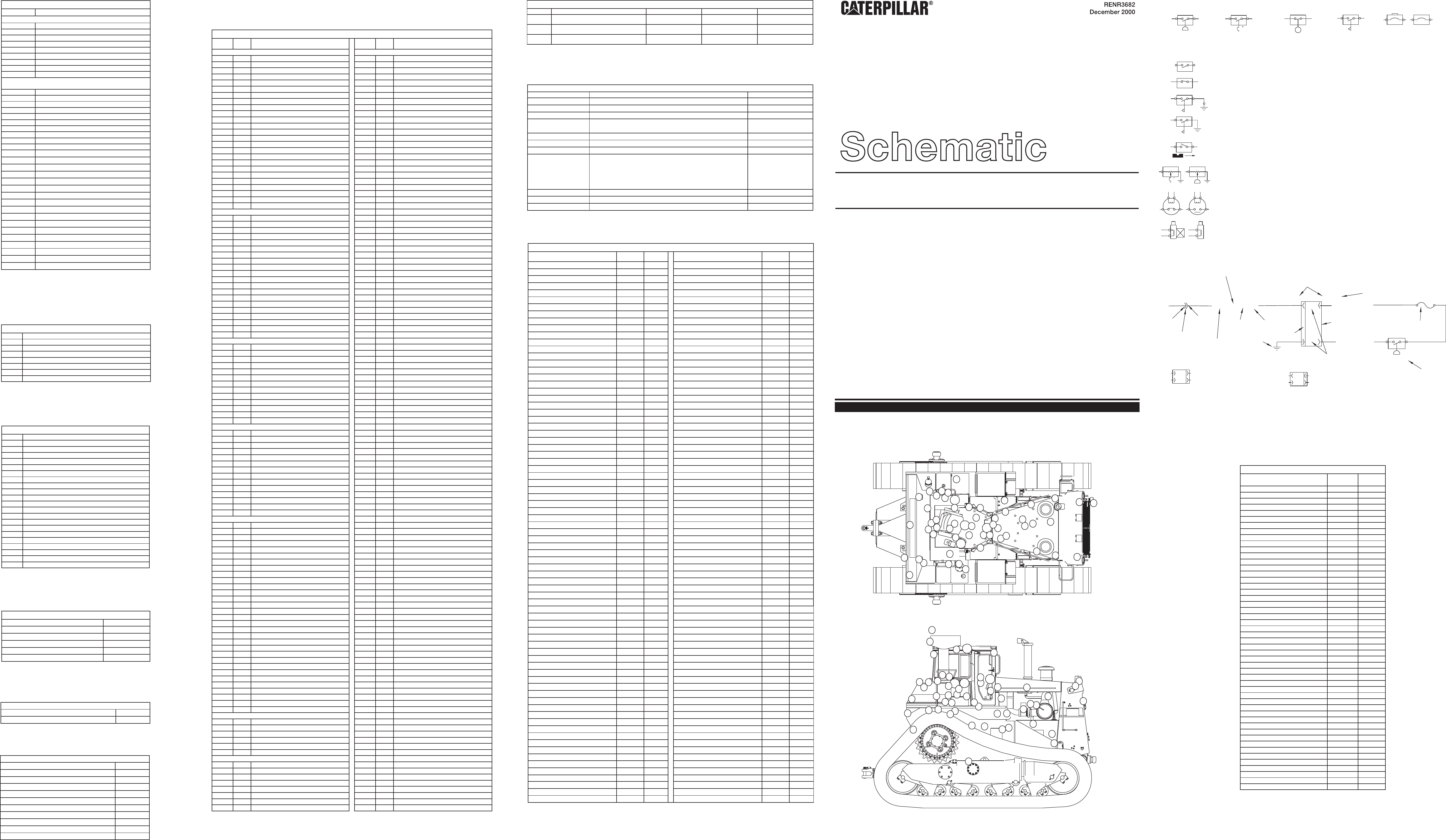 SCHEMATIC–D40R SERIES II TRACK TYPE TRACTOR ELECTRICAL SYSTEM   CAT ...