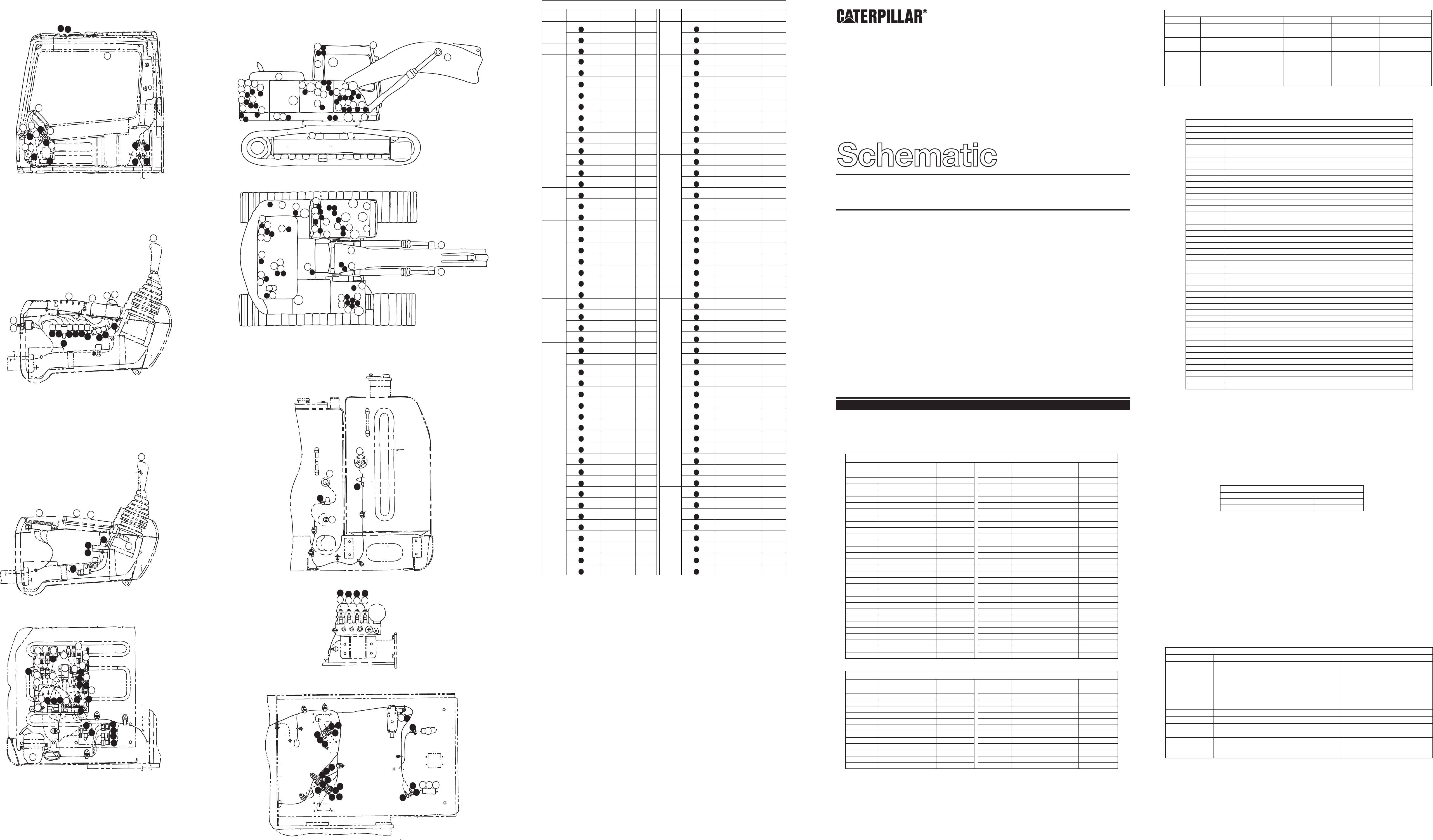 320b u excavator electrical schematic akashi used in service manual senr9240