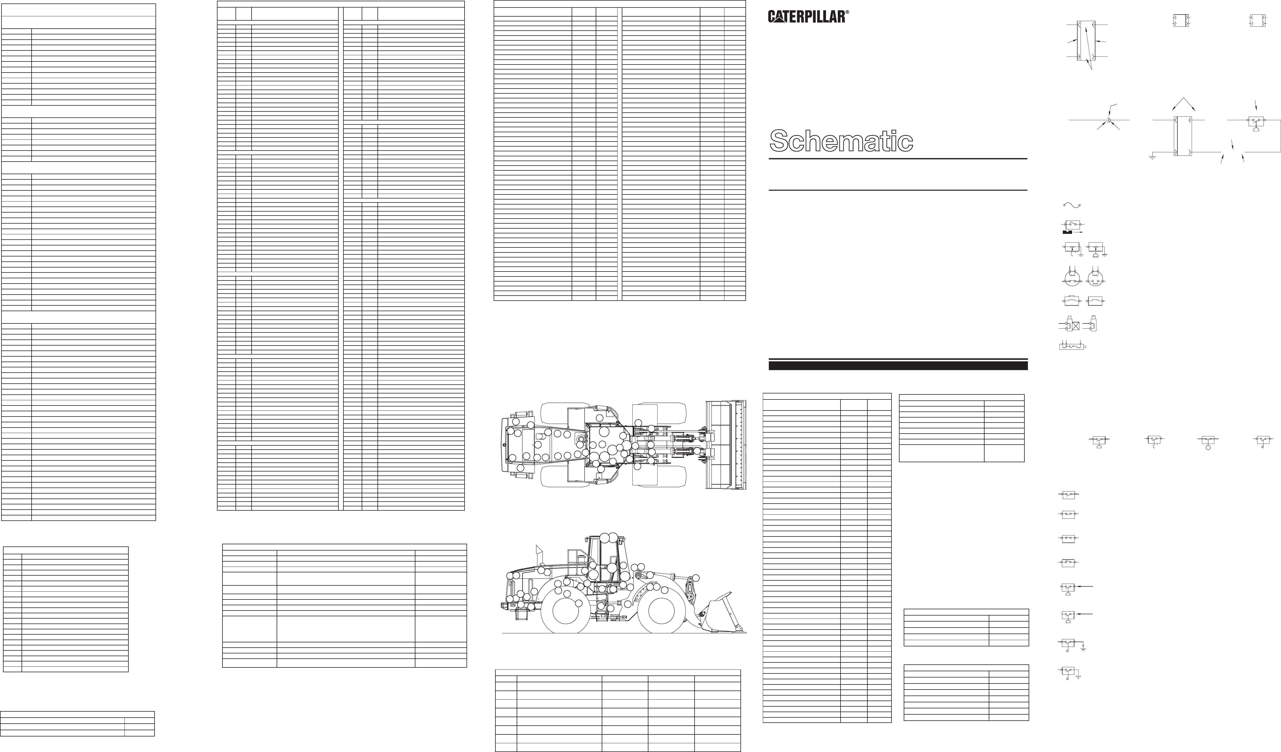 980G WHEEL LOADER ELECTRICAL SYSTEM SCHEMATIC | CAT Machines ... on