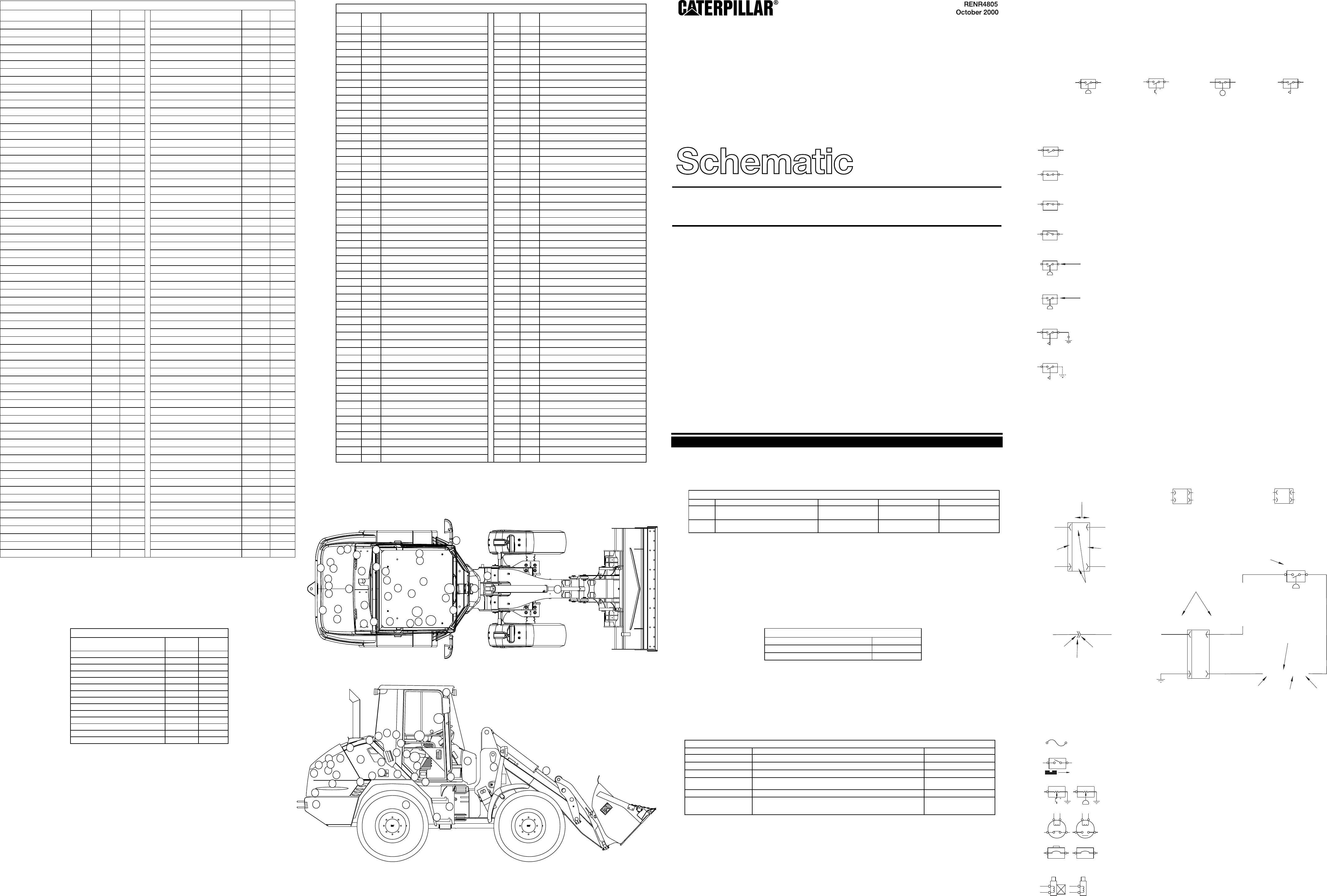 902  906  u0026 908 compact wheel loader electrical schematic