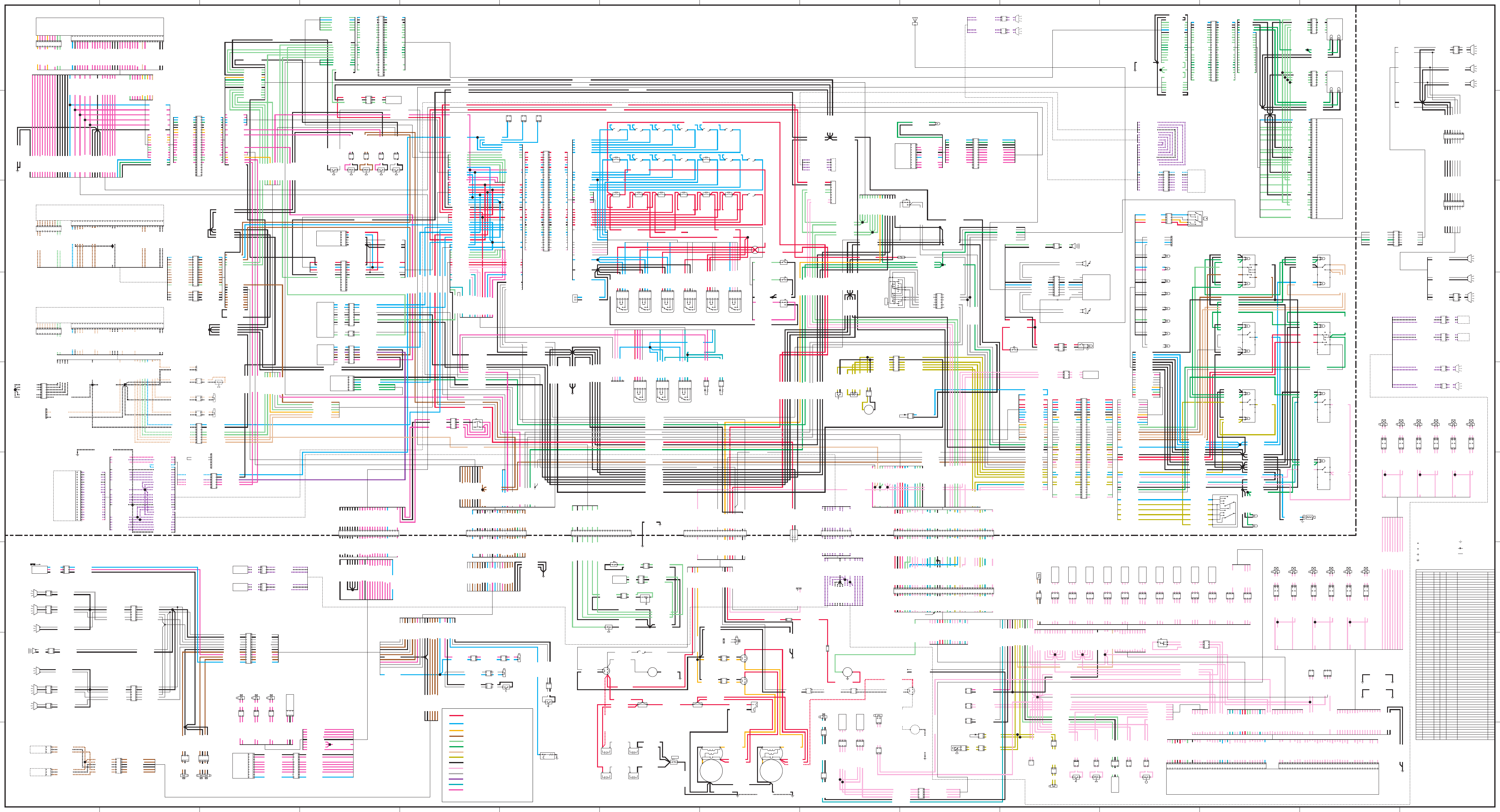 777d Truck Electrical Schematic  Powered By 3512b Engine