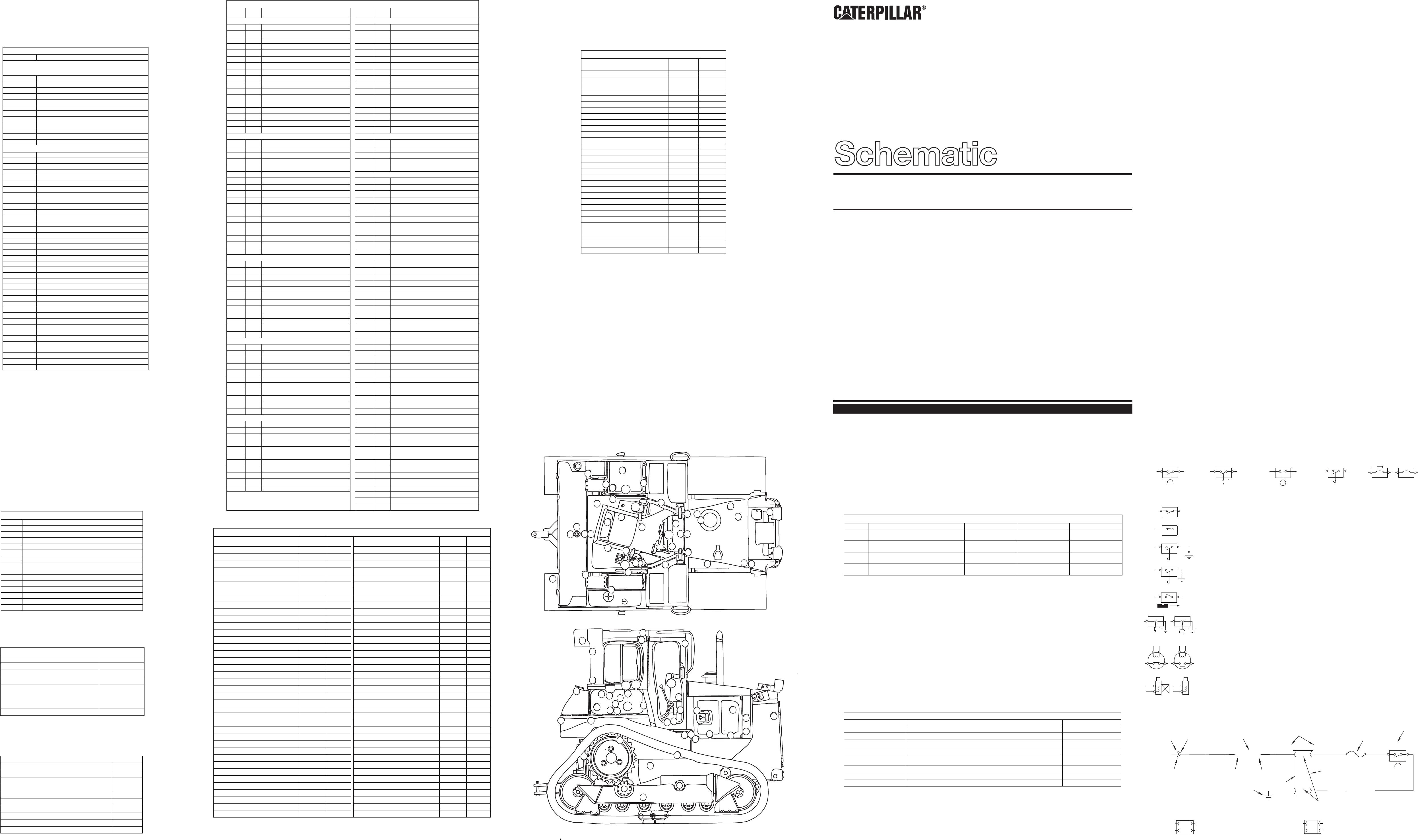 D6R TRACK-TYPE TRACTOR D/S ELECTRICAL SCHEMATIC | CAT ... on