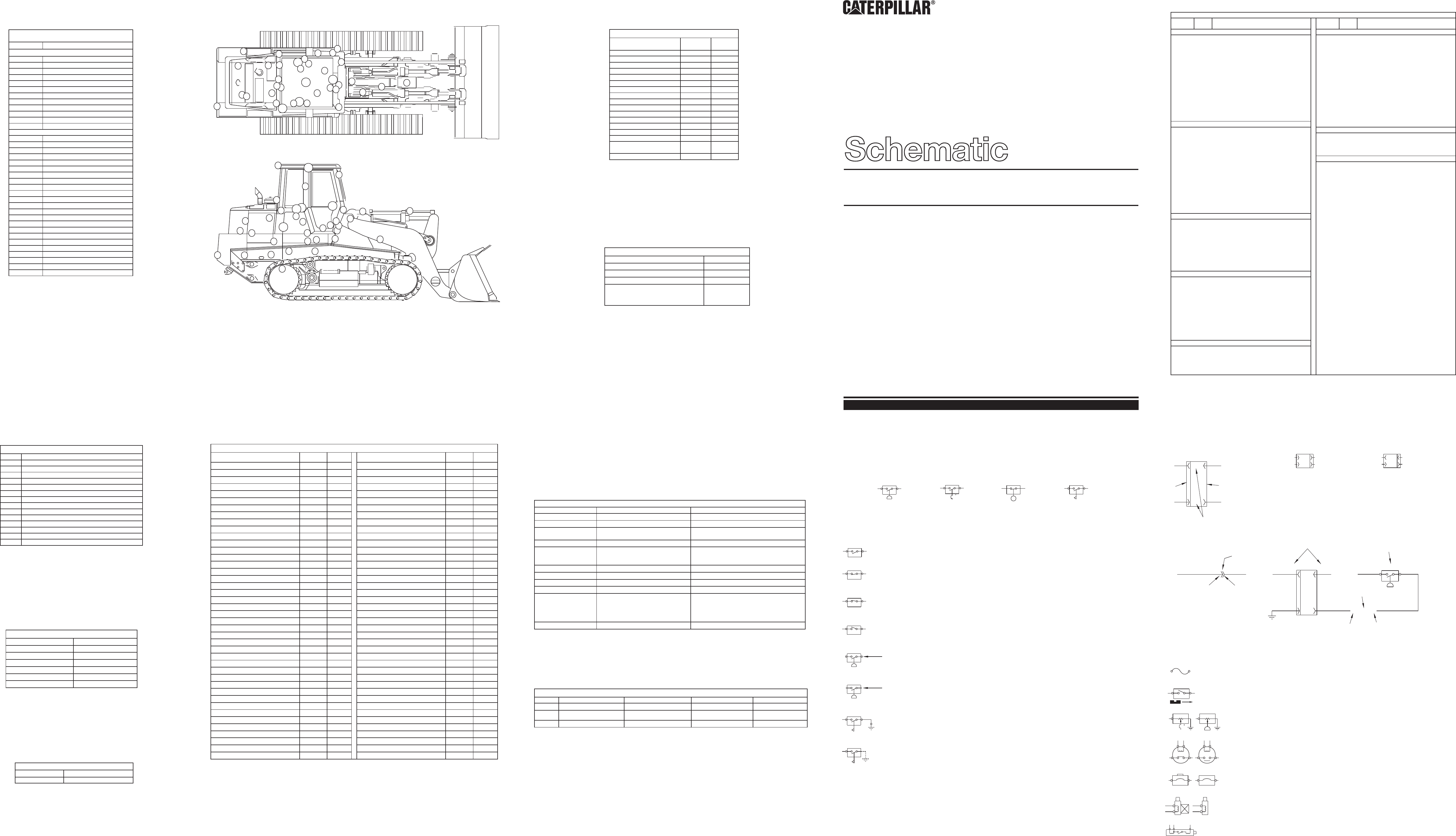 953C TRACK-TYPE LOADER ELECTRICAL SYSTEM SCHEMATIC | CAT