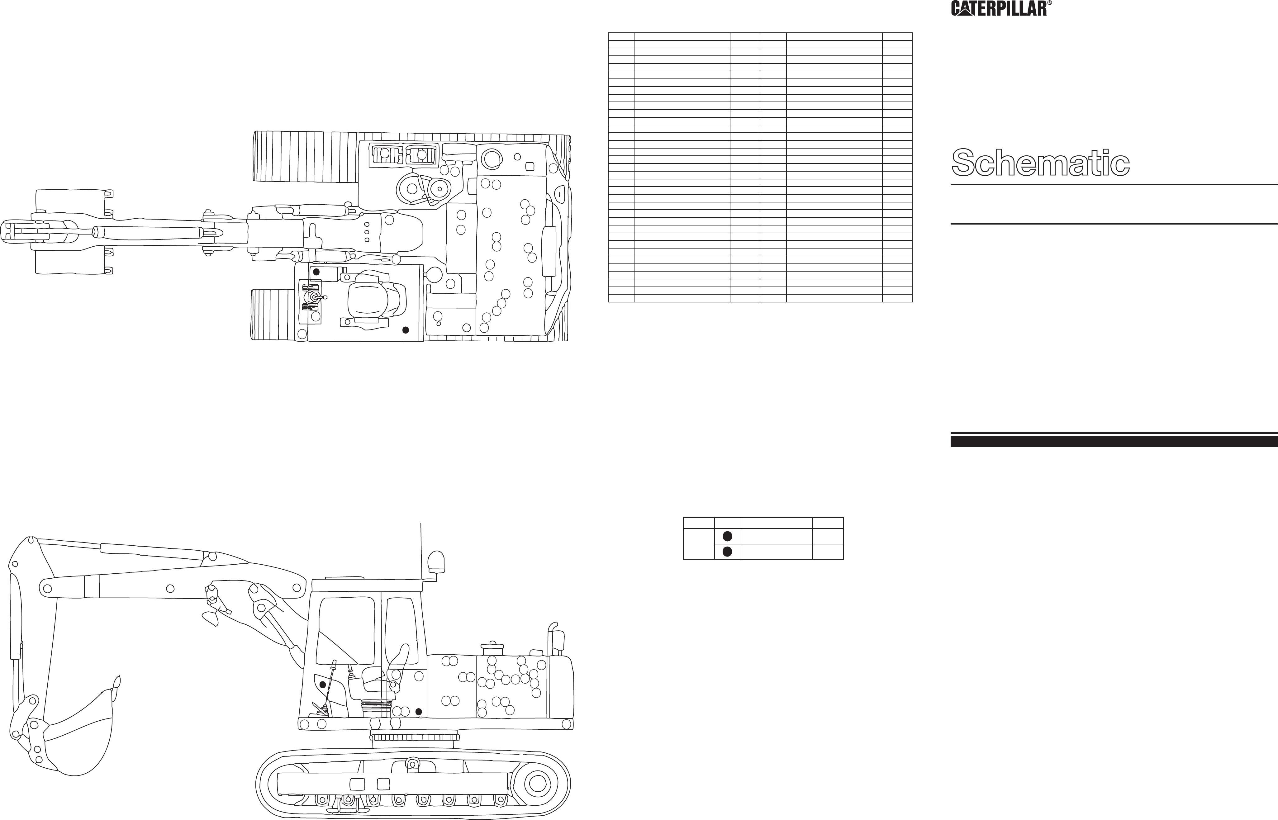 205/211 EXCAVATORS ELECTRIC SCHEMATIC USED IN SERVICE MANUAL SENR3168 | CAT  Machines Electrical Schematic