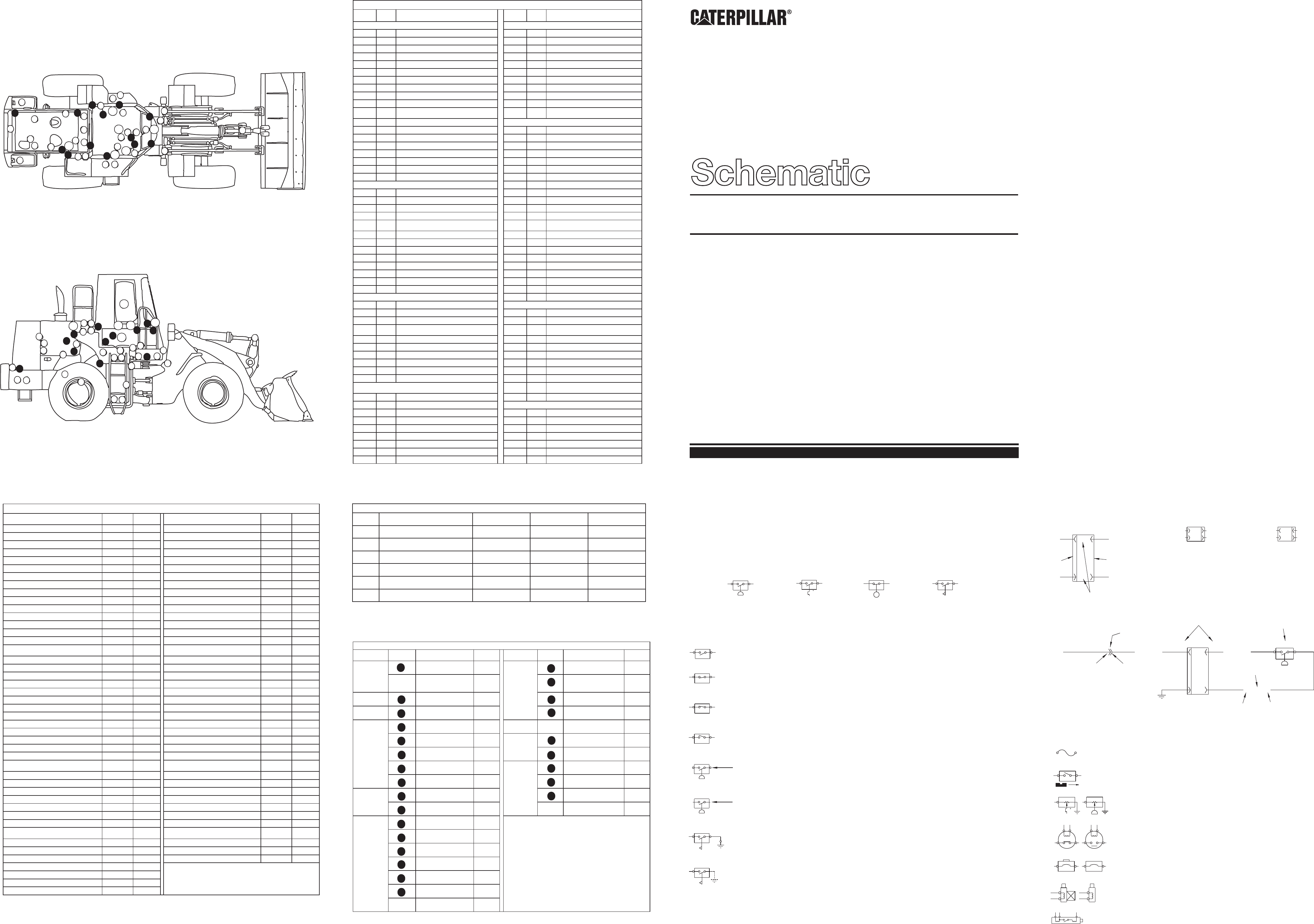 950f electrical systems schematic cat machines electrical  caterpillar 950f series ii & 960f wheel