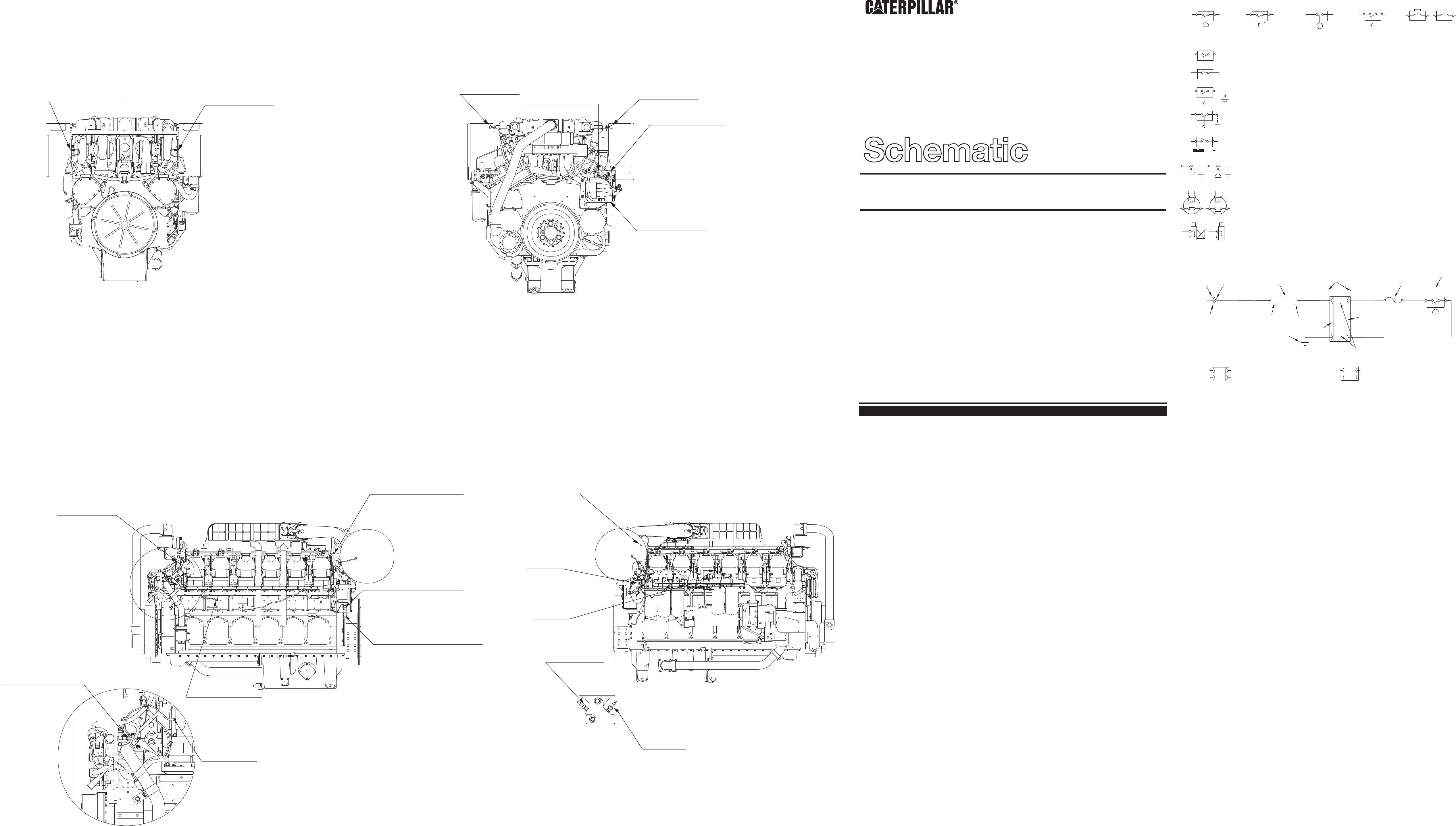 3512b Oil Well Servicing Engine Electrical System