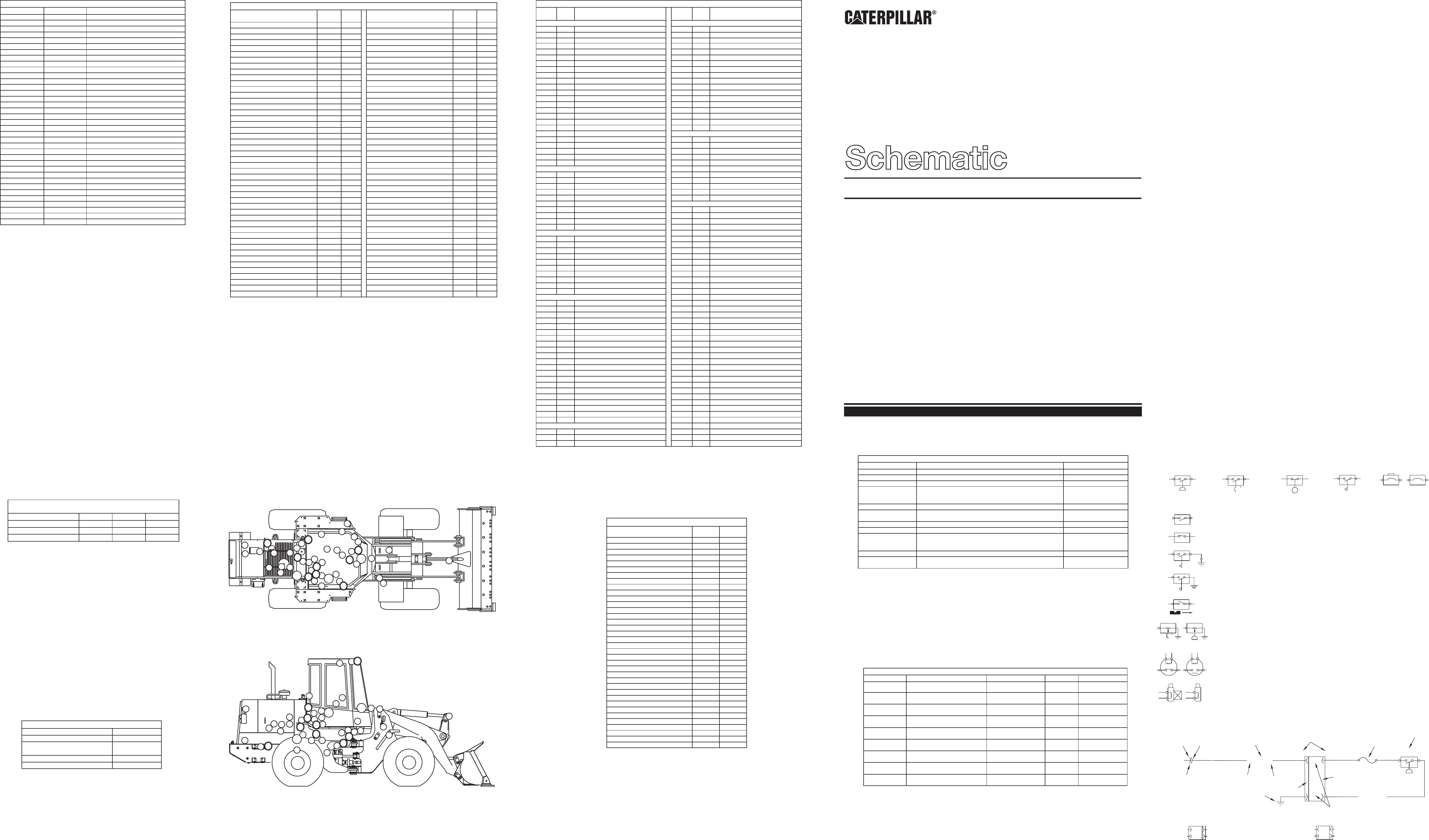 924f Wheel Loader Electrical System Cat Machines Electrical Schematic