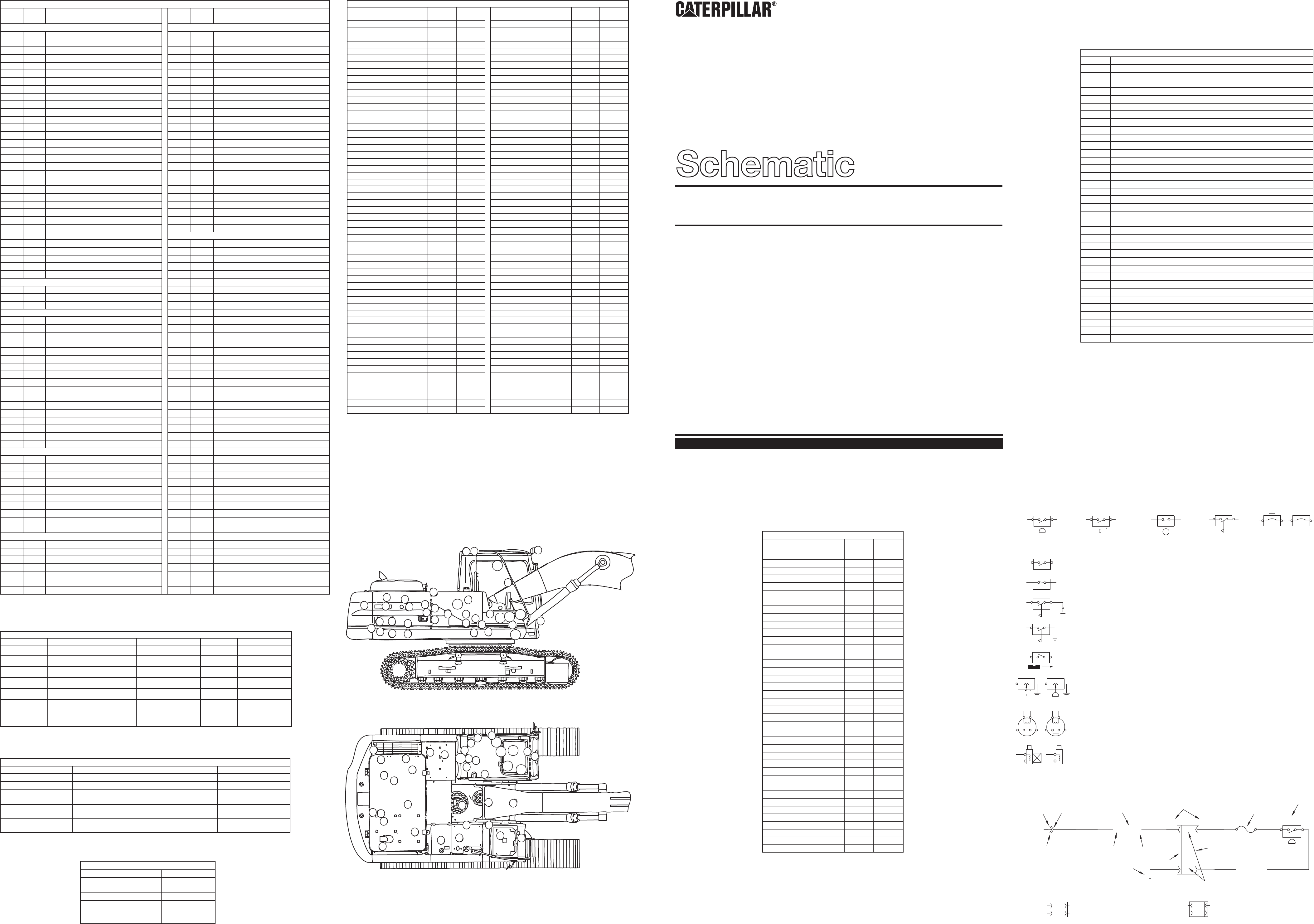 325B EXCAVATOR HE,MM VERSION ELECTRICAL SCHEMATIC, USED IN SERVICE MANUAL  SENR1620   CAT Machines Electrical SchematicCAT Machines Electrical Schematic